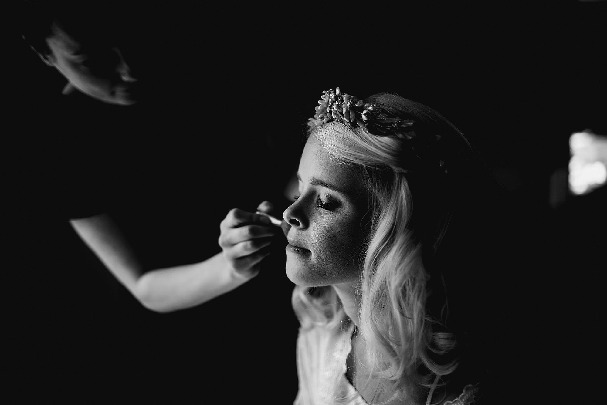 Herefordshire wedding hair and make up