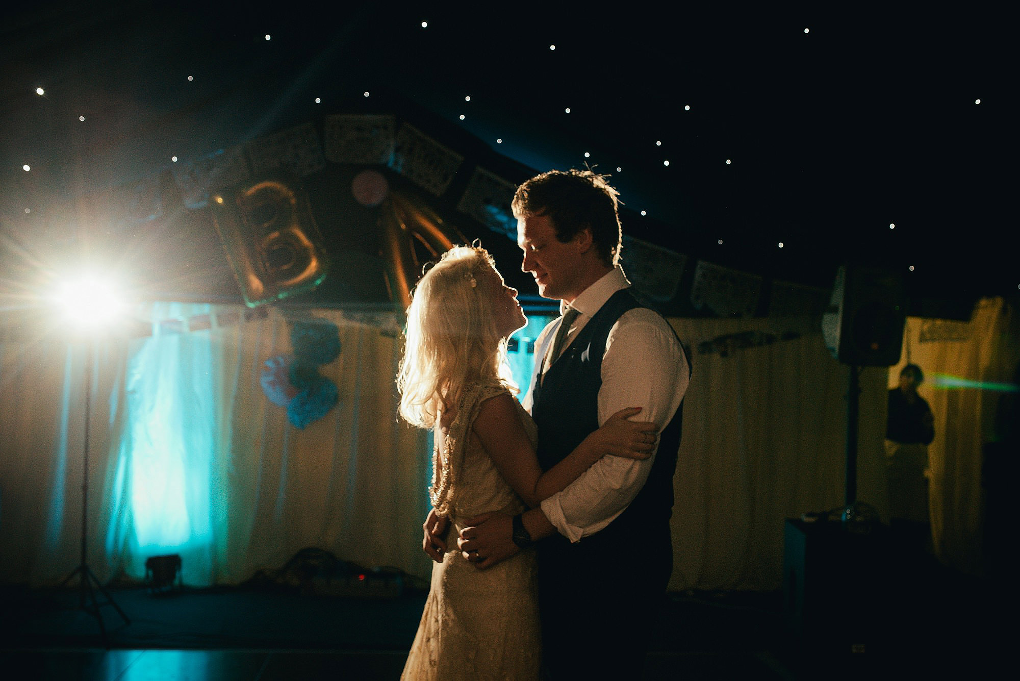 first dance starlit marquee