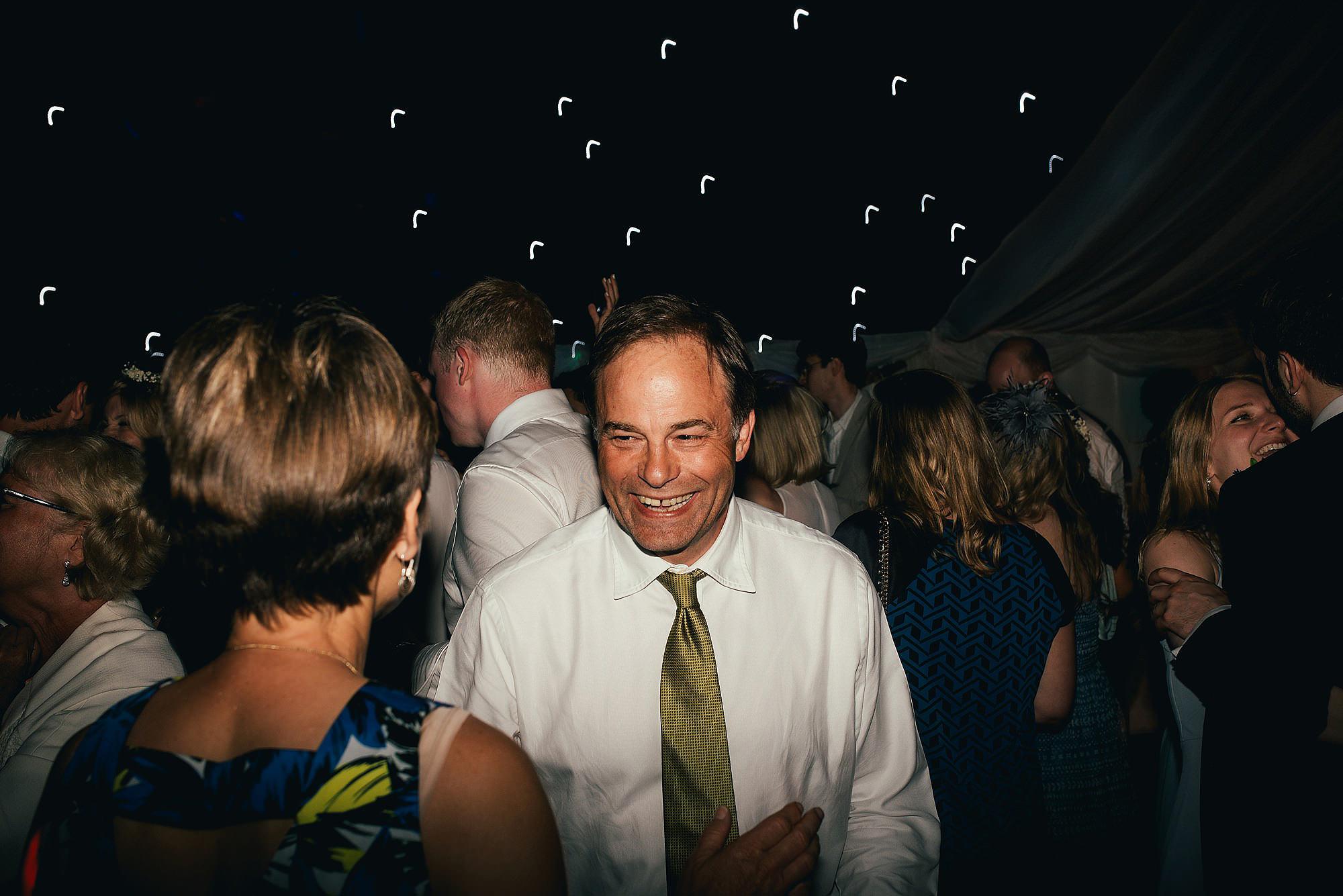 fun dancefloor at wedding