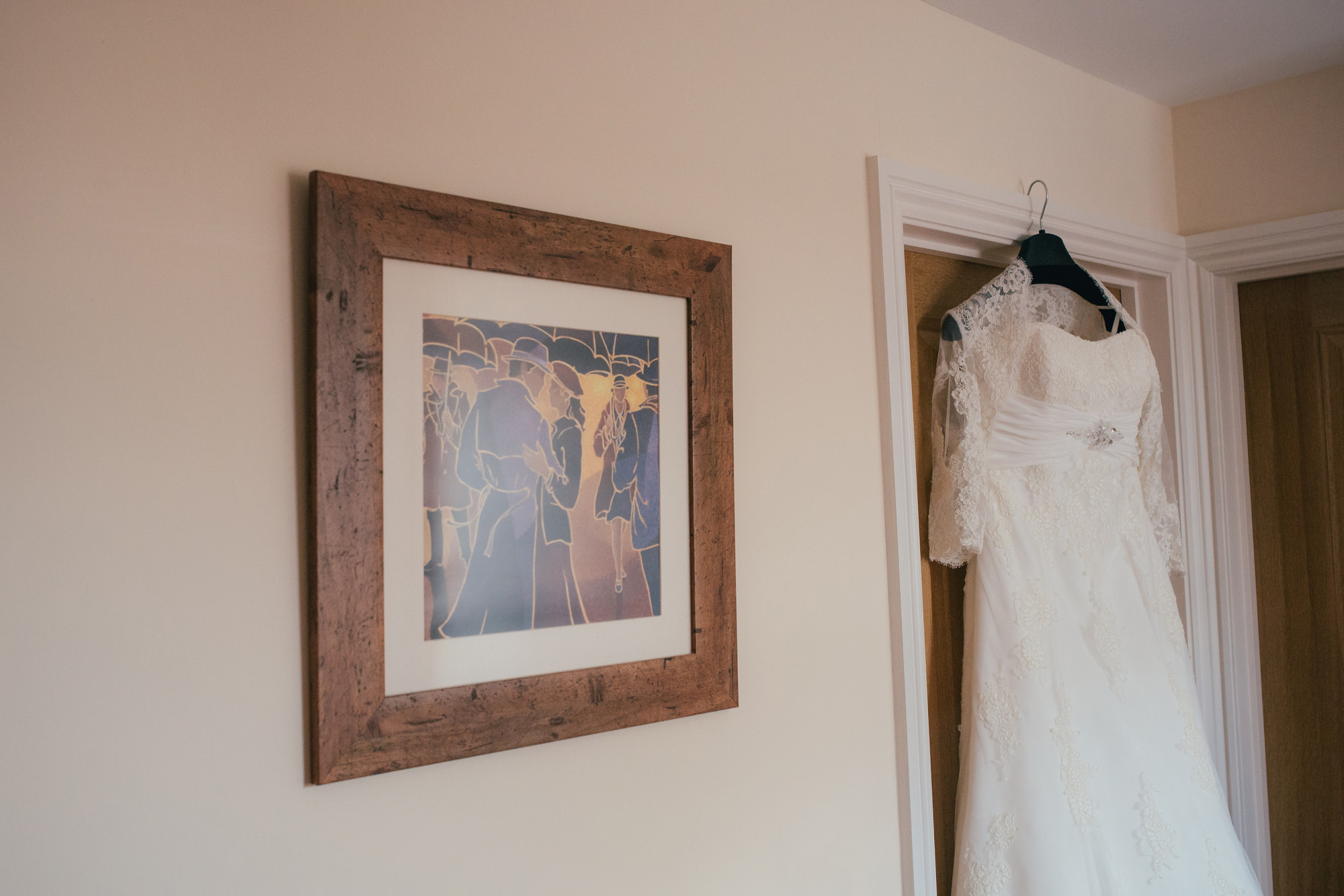 Rustic wedding at How Caple Court by Hereford Wedding Photographer