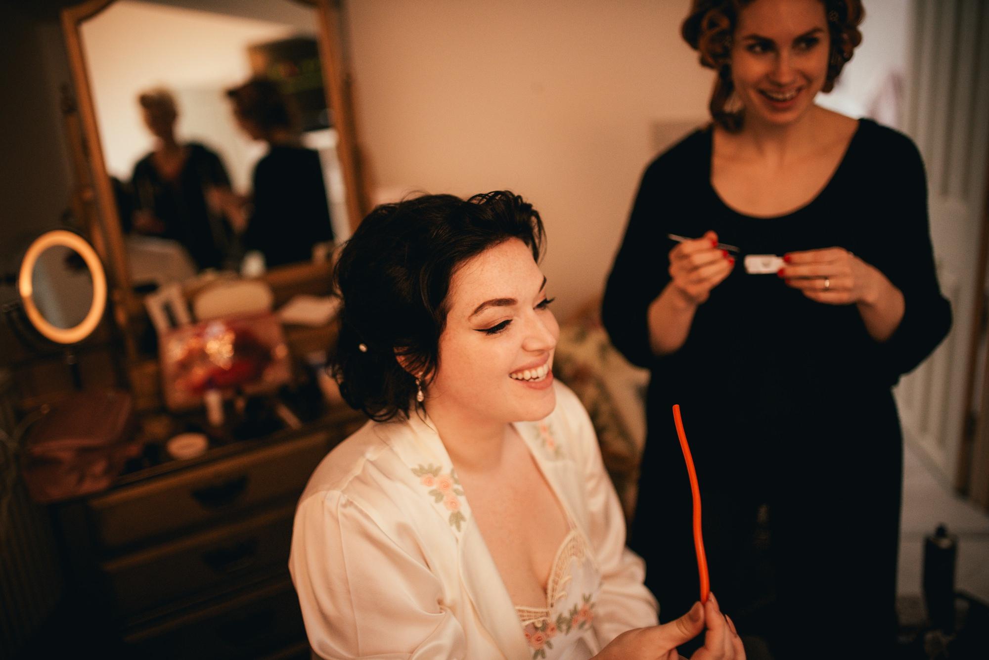 Vintage Bridal Preparations