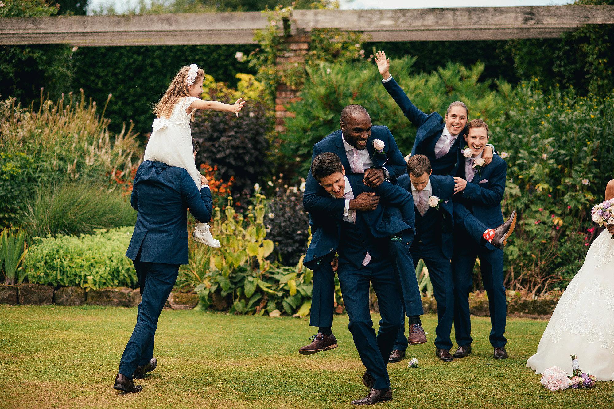 Bridal Party at Abbeywood Estate