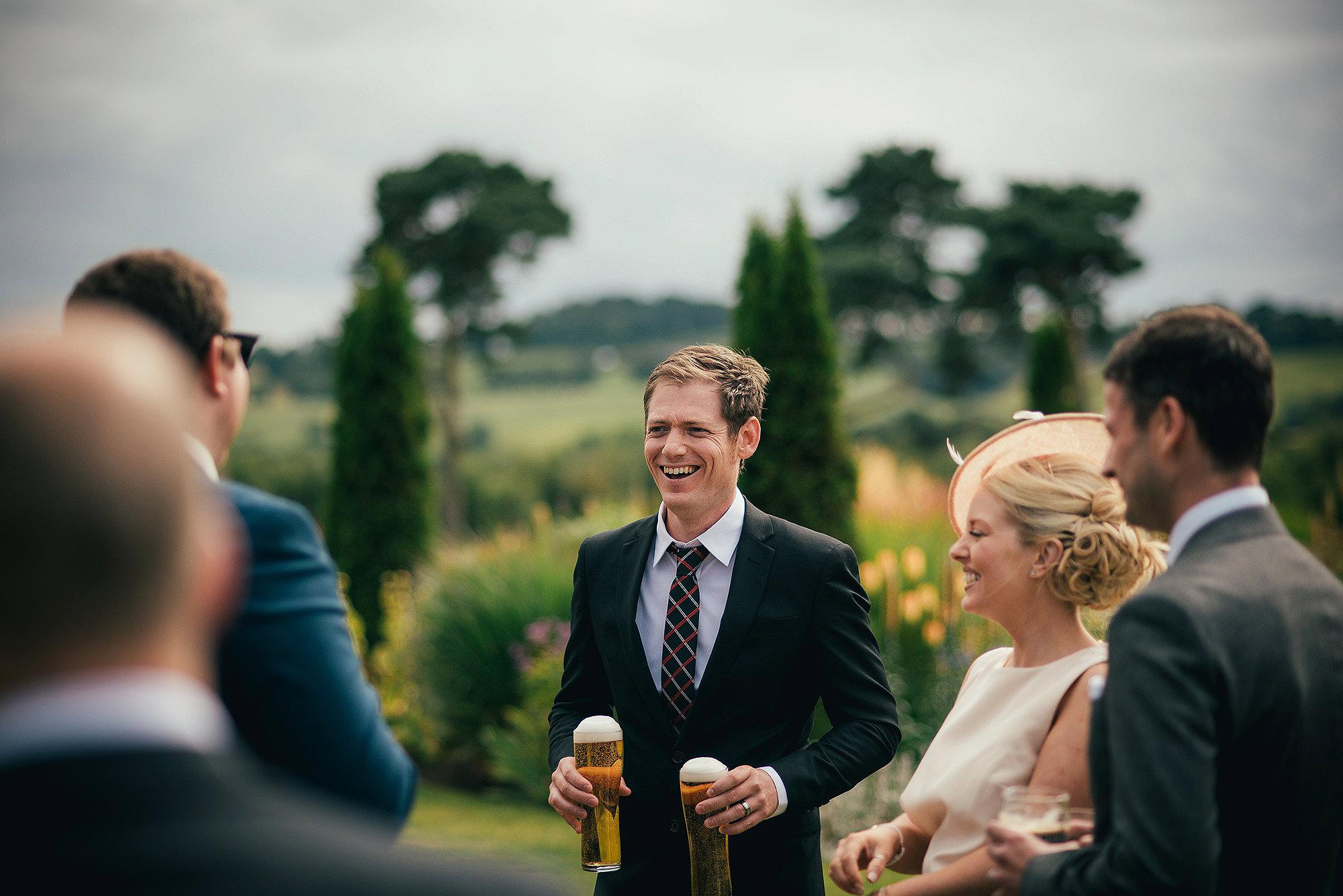 Guests at Abbeywood Estate Wedding