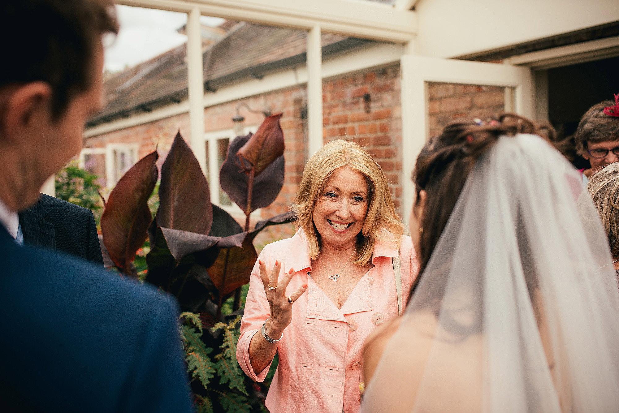 Wedding Guest at Abbeywood Estate Wedding