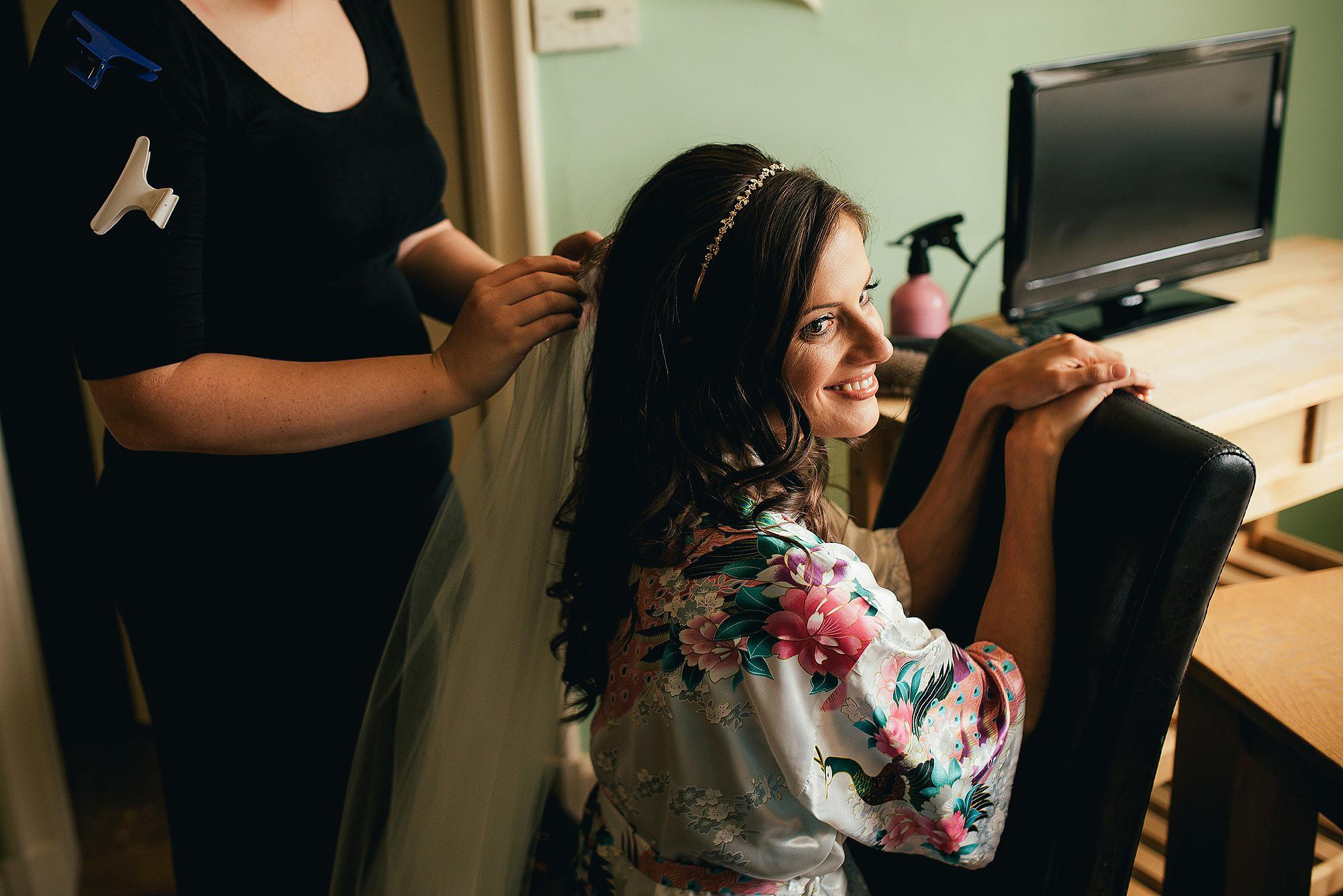 Abbeywood Estate Bridal Preparations