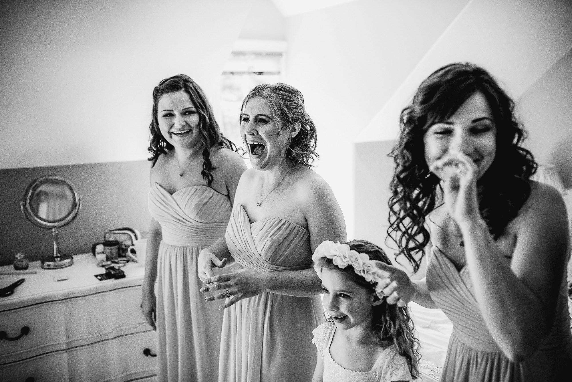 Bridesmaids at Abbeywood Estate Wedding