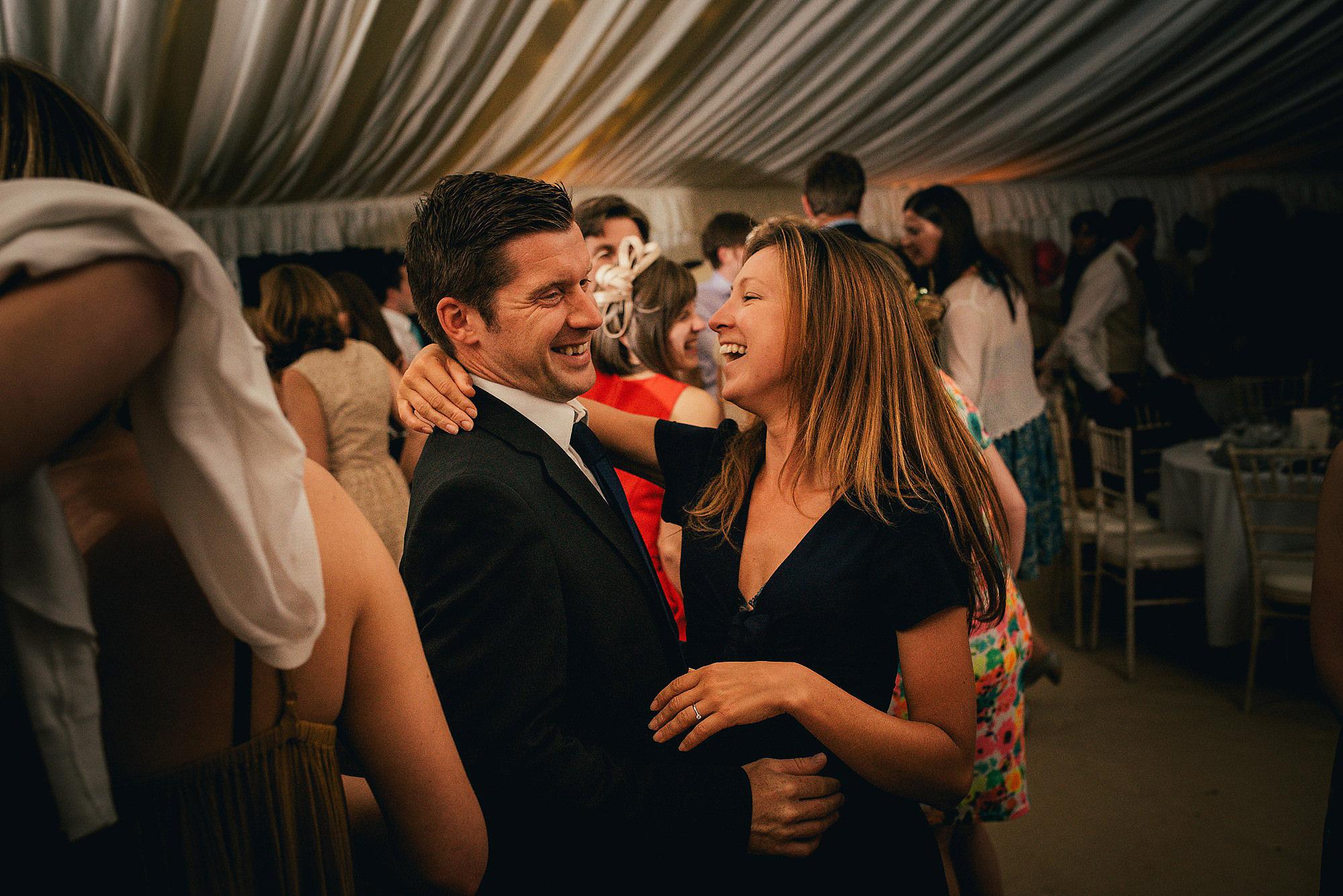 couple dancing at a wedding